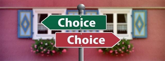 keuze maken