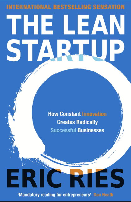 The Lean Startup - Eric Ries - Cover