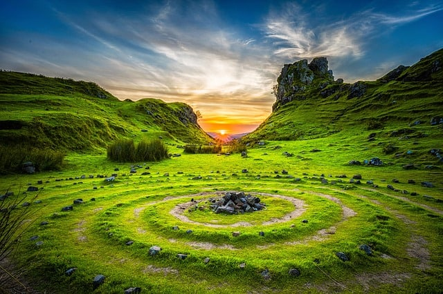 Cirkels van invloed - stenen