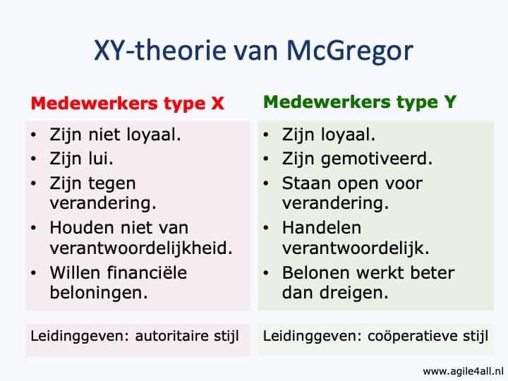 XY-theorie McGregor