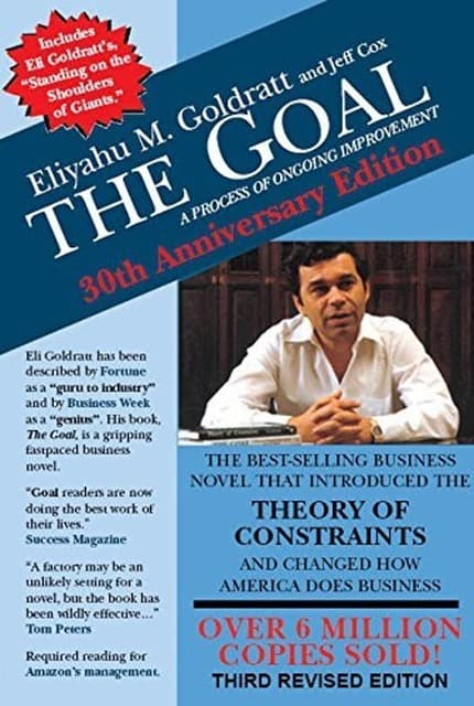 Cover The Goal - Theory of Constraints - Goldratt
