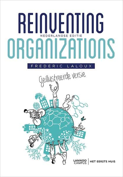 Reinventing Organizations - Frederic Laloux - cover