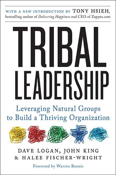Tribal Leadership - Logan, King, Fischer-Wright - cover