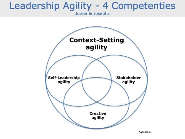 Leadership Agility - Joiner - Josephs - 4 competenties