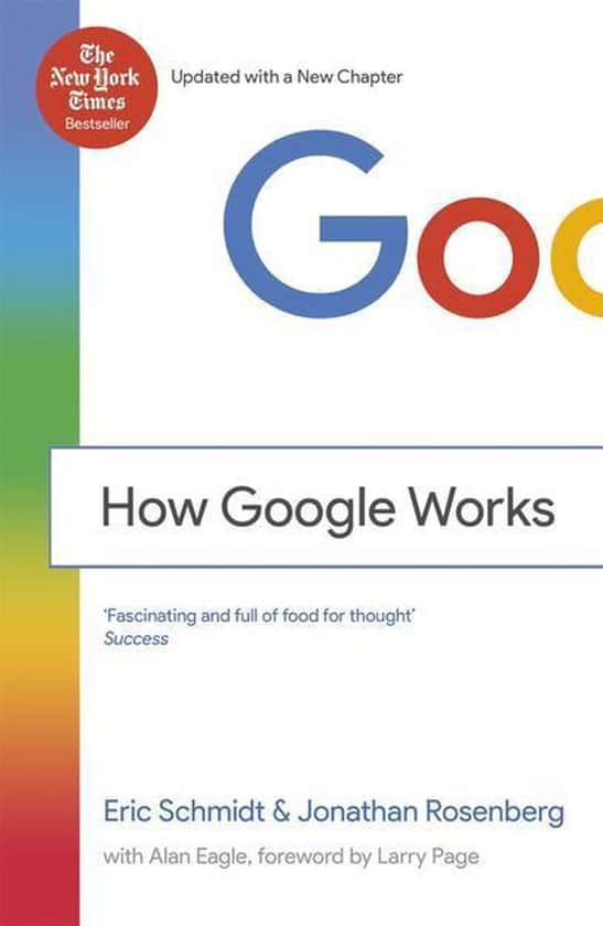 How Google Works - Schmidt - Rosenberg - Cover
