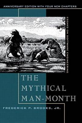 The Mythical Man-Month - Frederick Brooks - cover