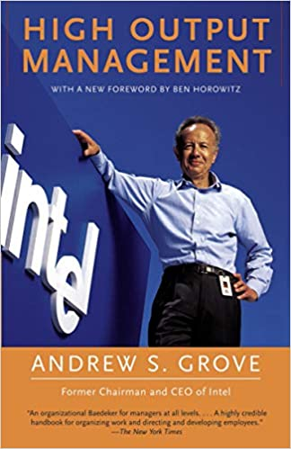 High Output Management - Andrew Grove - cover