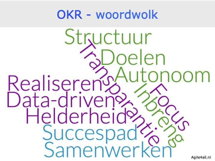 OKR - objectives & key results - woordwolk