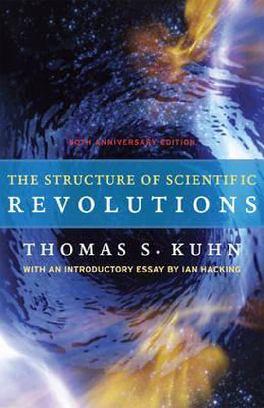 The Structure of Scientific Revolutions - Thomas Kuhn - cover
