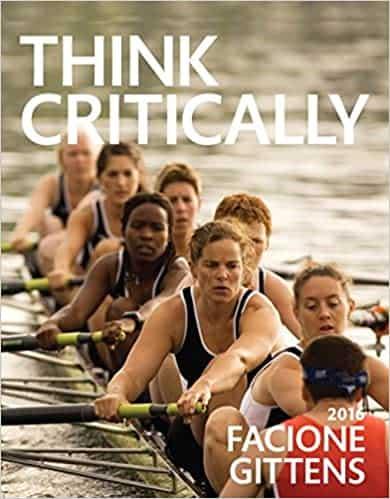 Think Critically - cover - Facione - Gittens