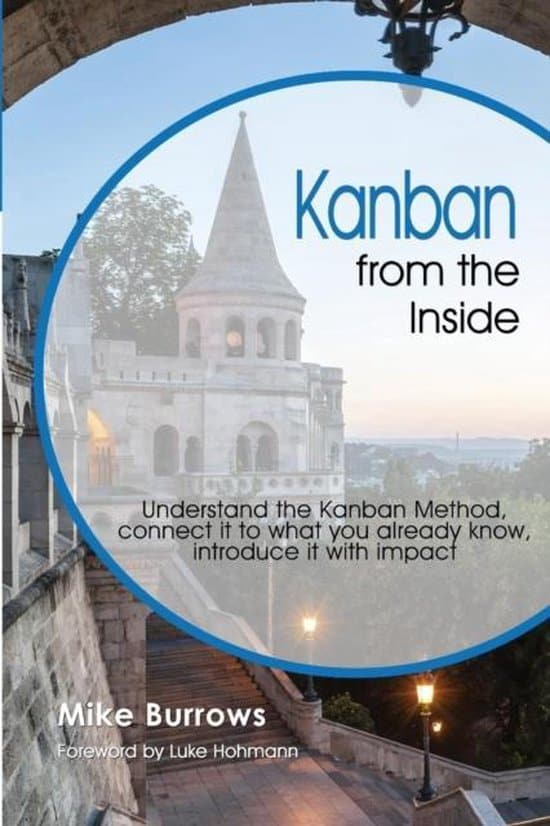 Kanban from the inside - Mike Burrows - cover