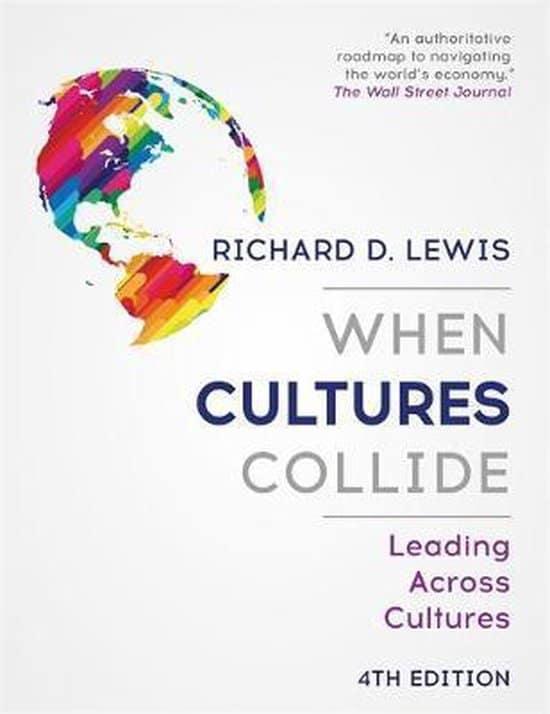 When Cultures Collide - Leanding Across Cultures - Richard D. Lewis - cover boek